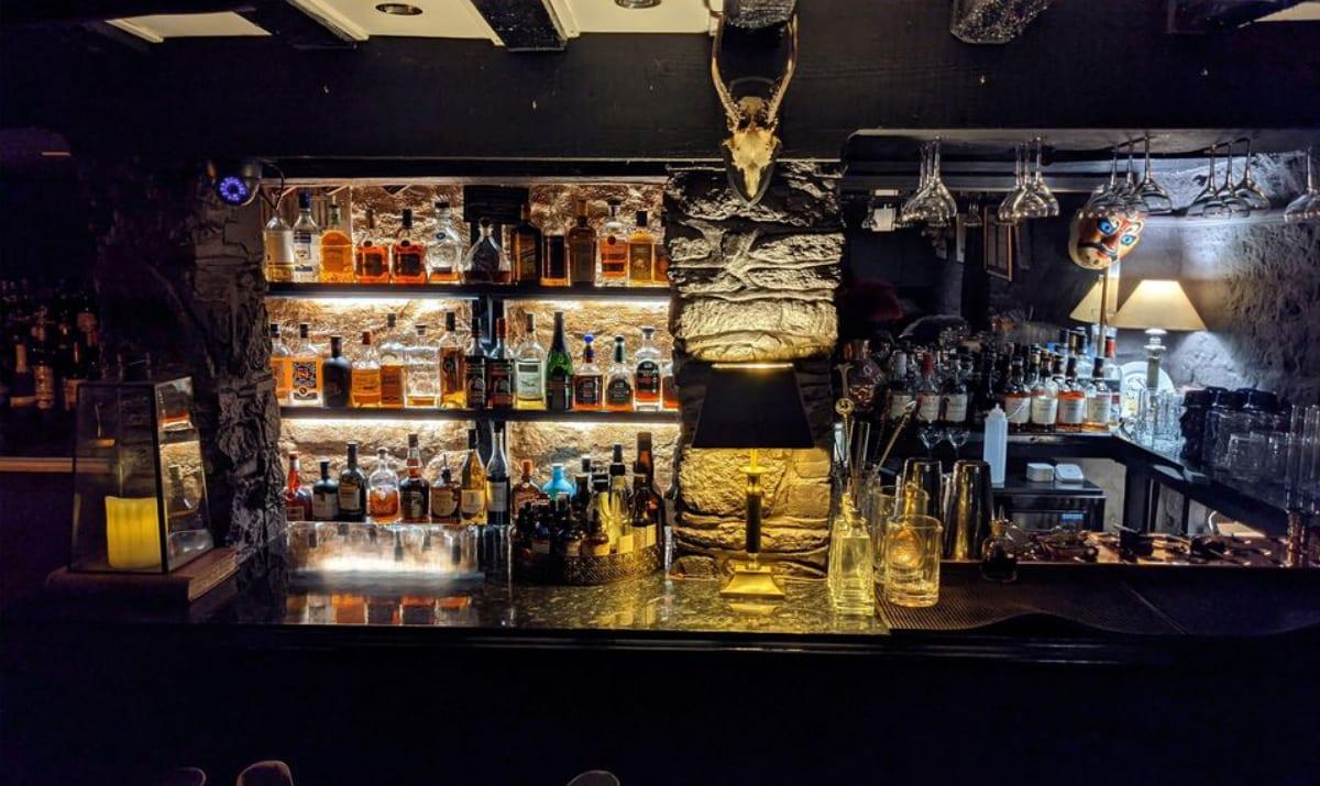a bar managed by grey bear
