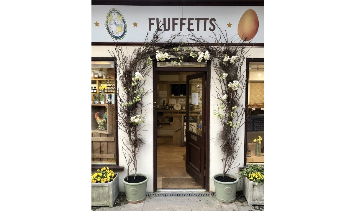 the door at Fluffets