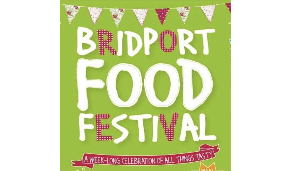 logo for bridport food festival