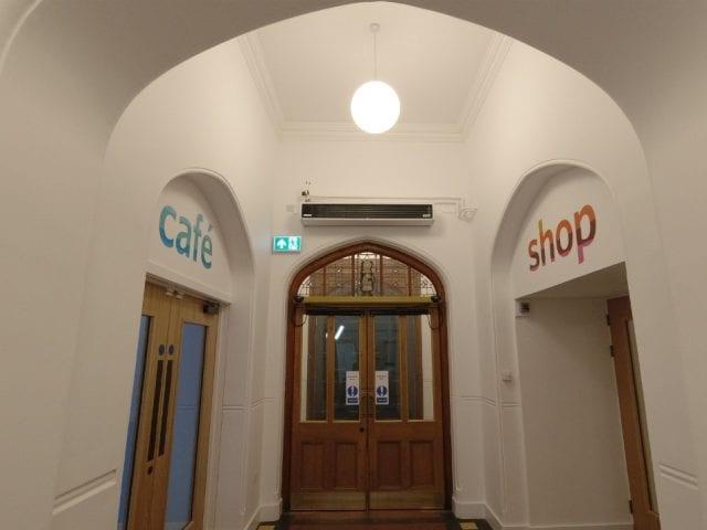 Dorset Museum hall way