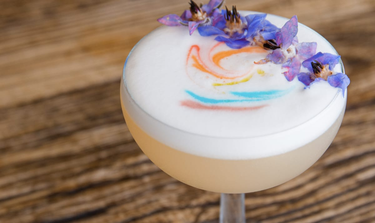 pride cocktail from clubhouse